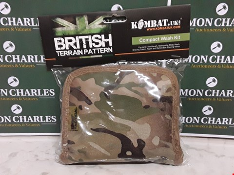 Lot 12082 BRITISH TERRAIN PATTERN COMPACT WASH KIT