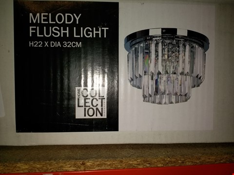 Lot 273 BOXED MELODY FLUSH CEILING LIGHT