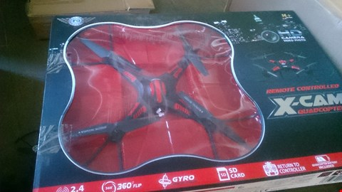 Lot 1109 BOXED XCAM QUADCOPTER