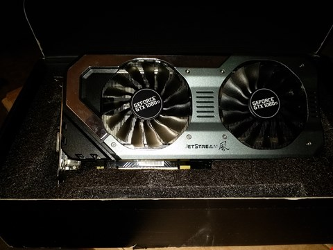 Lot 18752 PALIT NVIDIA GTX 1080TI SUPER JET STREAM GRAPHICS CARD 11GB DDR5