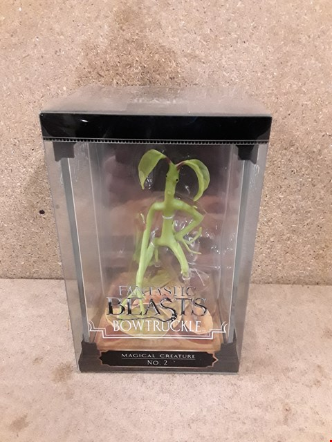 Lot 305 BRAND NEW BOXED FANTASTIC BEAST BOWTRUCKLE FIGURE