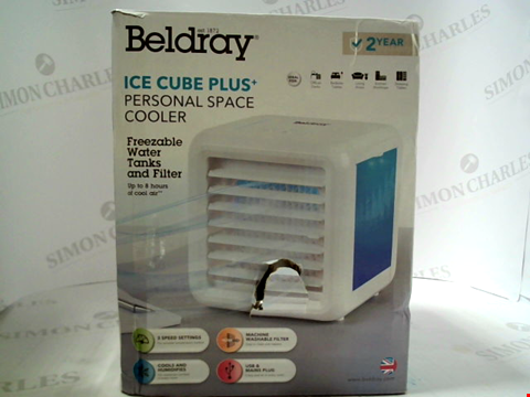 Lot 3056 BELDRAY ICE CUBE PLUS PERSONAL SPACE COOLER