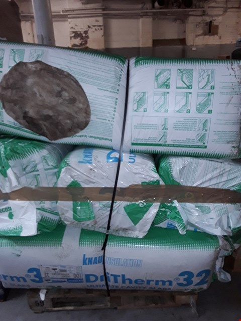 Lot 3162 PALLET OF APPROXIMATELY 8 ROLLS OF INSULATION