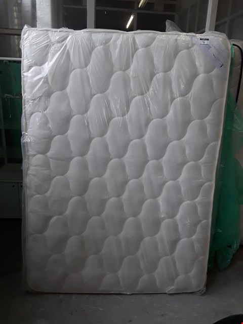 Lot 99 QUALITY BAGGED 135CM DOUBLE MATTRESS