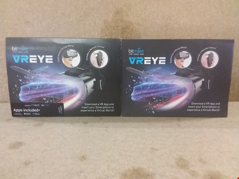Lot 441 2 BRAND NEW BOXED VREYE VIRTUAL REALITY HEADSETS