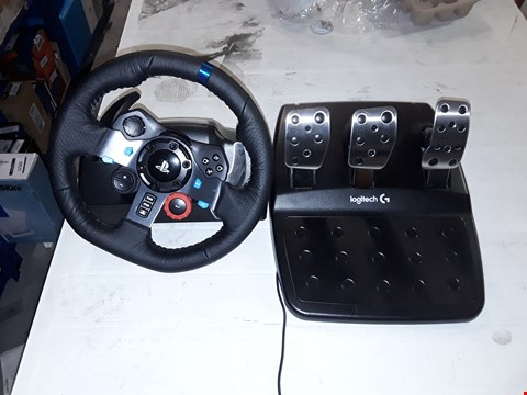 Lot 12161 LOGITECH G29 DRIVING FORCE STEERING WHEEL