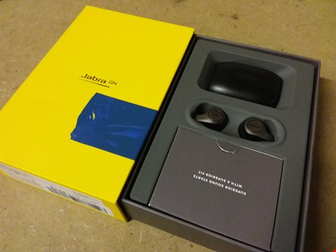 Lot 893 JABRA ELITE 65T TRUE WIRELESS BLUETOOTH EARBUDS