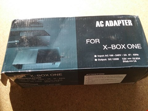 Lot 9039 A AC ADAPTER FOR X-BOX ONE