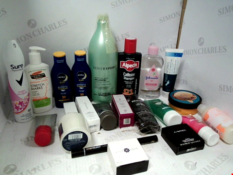 Lot 11087 LOT OF ASSORTED HEALTH & BEAUTY PRODUCTS