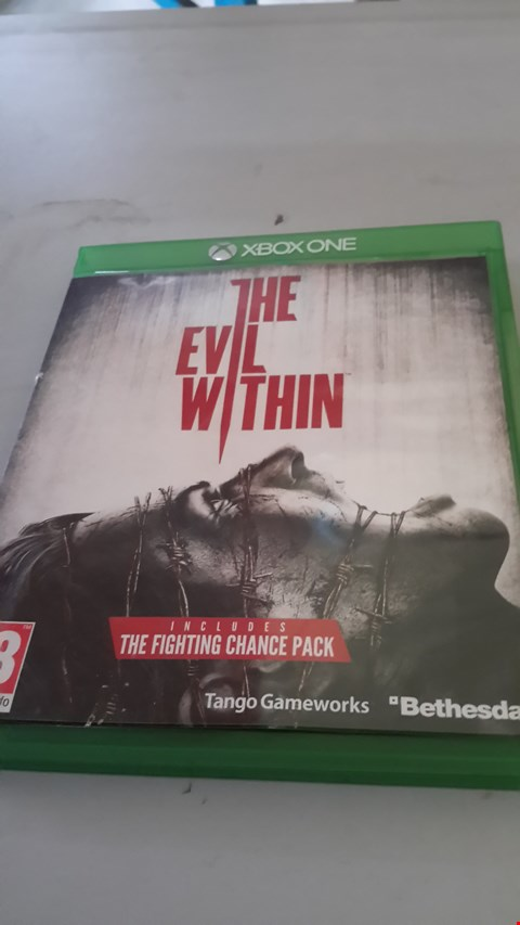 Lot 9025 THE EVIL WITHIN FOR XBOX ONE