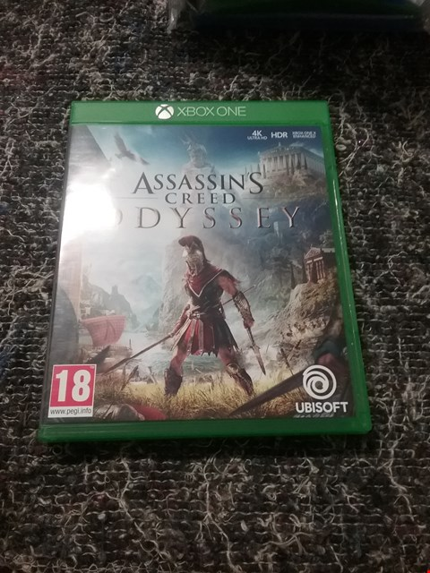 Lot 7053 ASSASSIN'S CREED ODYSSEY STANDARD EDITION FOR XBOX ONE RRP £64.99
