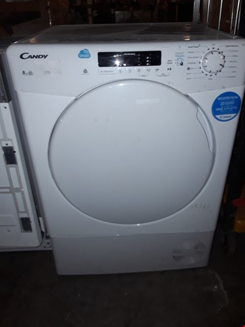Lot 179 CANDY 8Kg SMART TOUCH CONDENSER TUMBLE DRYER
