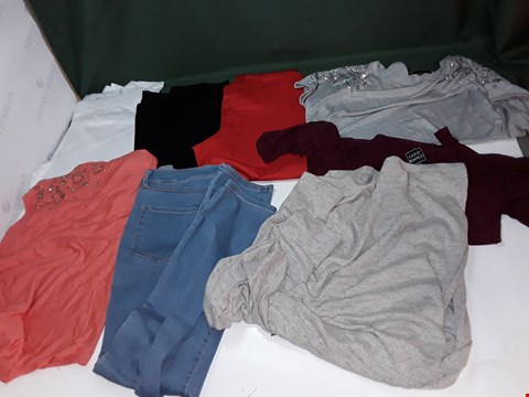 Lot 1070 LOT OF APPROXIMATELY 80 ASSORTED ITEMS OF WOMENS CLOTHING TO INCLUDE HALSTON, COCO BLANCO, D &CO
