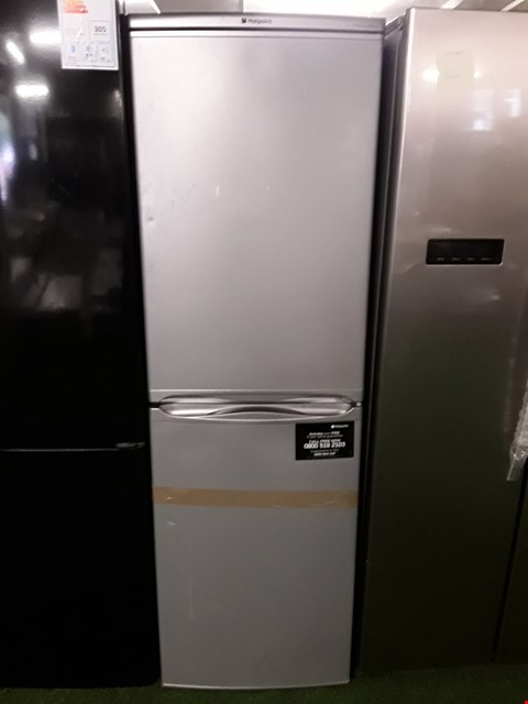 Lot 5 HOTPOINT FIRST EDITION SILVER FRIDGE FREEZER
