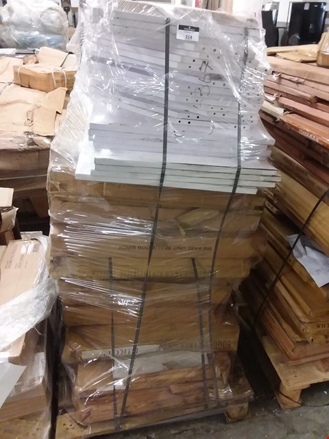 Lot 551 PALLET OF ASSORTED FLAT PACK FURNITURE PARTS