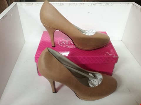 Lot 1050 BOXED BRAND NEW ALWAYS CAMEL STILETTO COURT SHOES SIZE 41