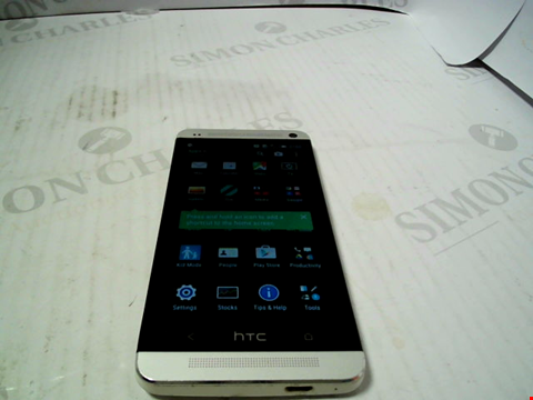 Lot 5278 HTC ONE 32GB ANDROID SMARTPHONE