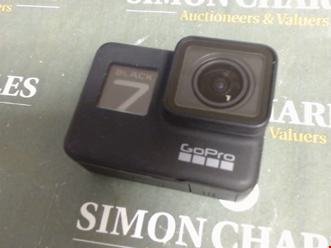 Lot 622 GO-PRO BLACK7 ACTION CAM