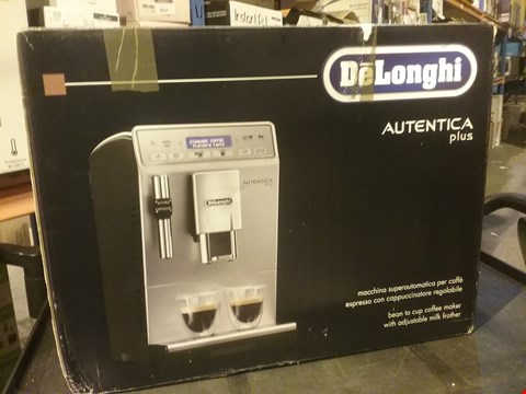 Lot 4005 DE'LONGHI AUTENTICA PLUS AUTOMATIC BEAN TO CUP COFFEE MACHINE