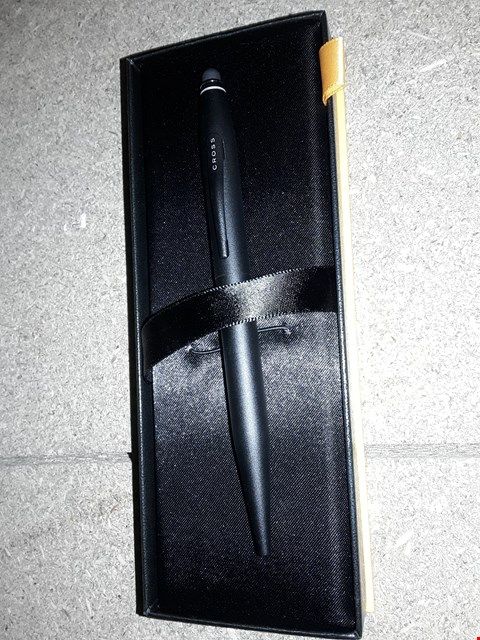 Lot 796 CROSS TECH 2 SATIN BLACK BALLPOINT PEN WITH STYLUS