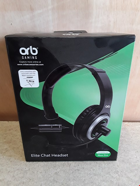 Lot 137 BRAND NEW BOXED ORB XBOX ONE ELITE CHAT HEADSET