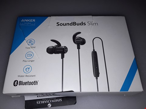 Lot 10324 ANKER SOUNDBUDS SLIM