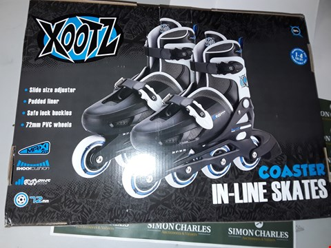 Lot 7510 BRAND NEW XOOTZ COASTER IN-LINE SKATES RRP £43.00