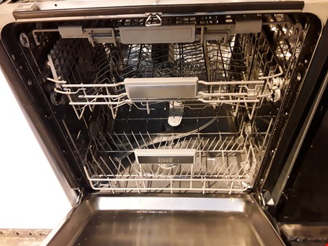Lot 1072 COOKE & LEWIS INTEGRATED FULLSIZE DISHWASHER