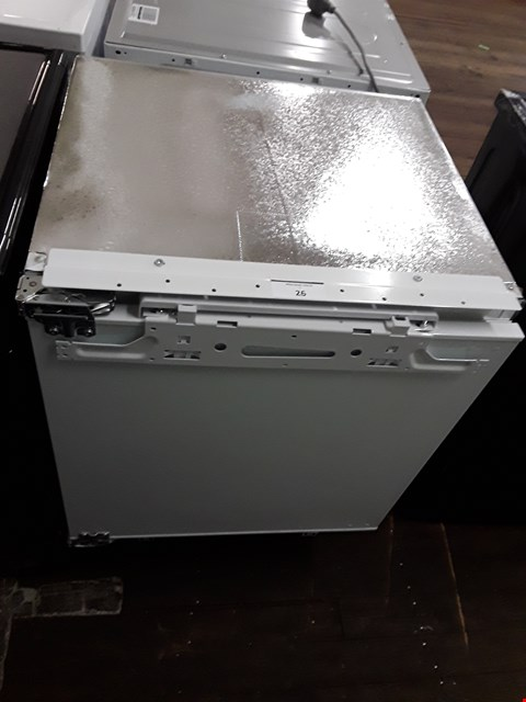 Lot 26 SWAN SRB15410 60CM UNDER COUNTER INTEGRATED FREEZER RRP £250.00