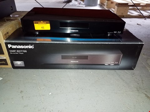 Lot 9383 BOXED PANASONIC BLU-RAY DISC PLAYER- DMP-BDT700