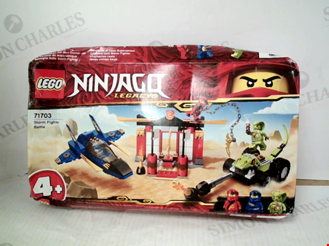 Lot 3089 LEGO NINJAGO LEGACY 71703 STORM FIGHTER BATTLE KIT