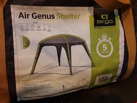 Lot 4 AIRGO AIR GENUS INFLATABLE SHELTER