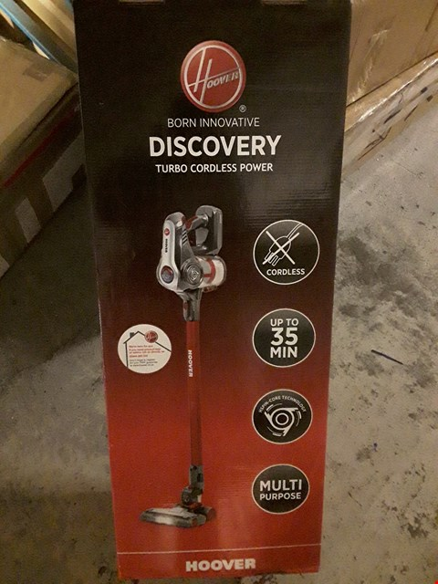 Lot 467 HOOVER DISCOVERY CORDLESS VACUUM CLEANER