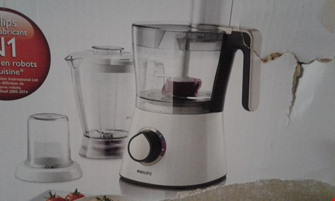 Lot 10168 PHILIPS VIVA COLLECTION FOOD PROCESSOR