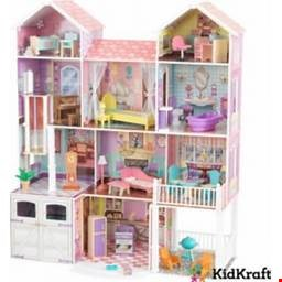 Lot 224 KID CRAFT COUNTRY ESTATE DOLLS HOUSE
