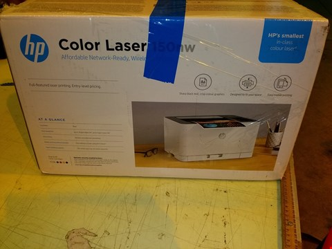Lot 8316 HP COLOUR LASER PRINTER 150NW