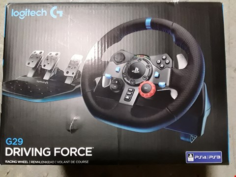 Lot 8098 LOGITECH G29 DRIVING FORCE STEERING WHEEL