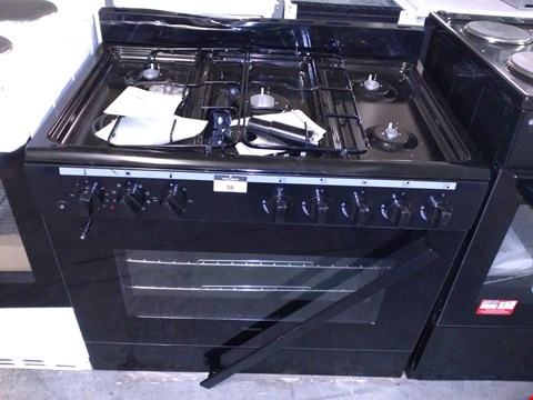 Lot 38 SWAN SX2040 90CM DUAL FUEL RANGE COOKER - BLACK