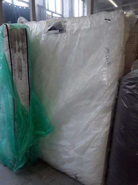 Lot 97 QUALITY BAGGED 150CM KINGSIZE TRADITIONAL 1000 POCKET MATTRESS