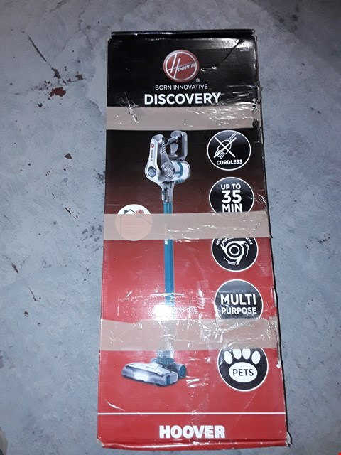Lot 10104 HOOVER DISCOVERY DS22PTGC 001 CORDLESS PET HOOVER