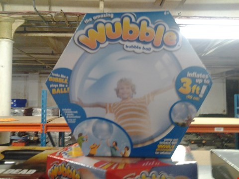 Lot 369 6 BOXED THE AMAZING WUBBLE BUBBLE BALLS
