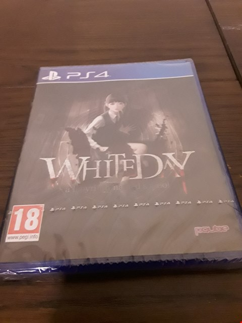 Lot 1002 WHITE DAY PLAYSTATION 4 GAME