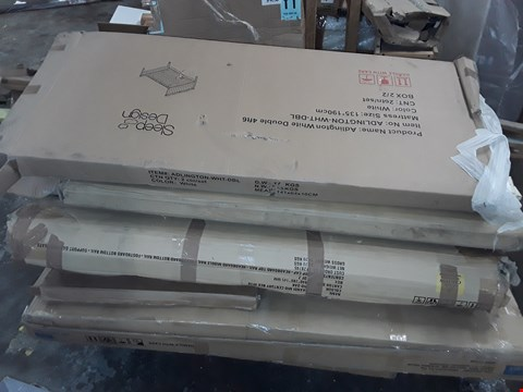 Lot 825 PALLET OF ASSORTED FLAT PACK FURNITURE PARTS