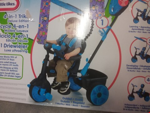 Lot 102 BOXED LITTLE TIKES 4 IN 1 DELUXE EDITION PUSH TRIKE RRP £115