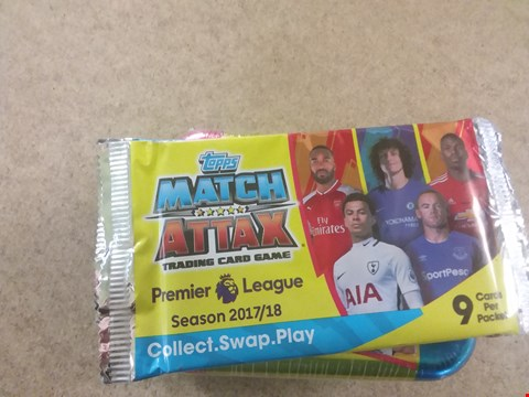Lot 430 7 BRAND NEW PACKS OF TOPPS MATCH ATTAX TRADING CARD GAME