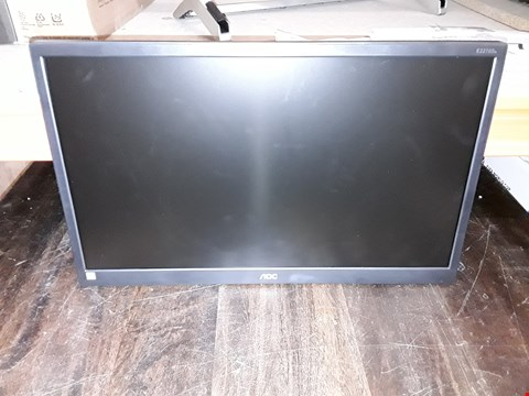 "Lot 585 AOC E2270SWHN 21.5"" WIDESCREEN TN LED BLACK (1920X1080/5MS/VGA/HDMI)"