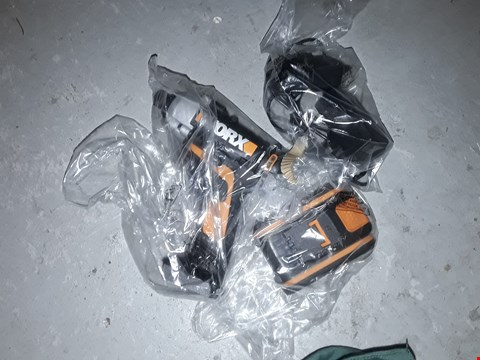 Lot 555 WORX WX290.2 CORDLESS IMPACT DRIVER WITH X1 2. OAH