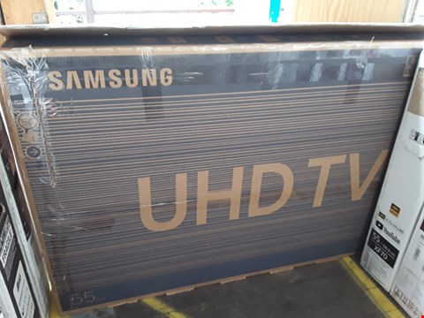 "Lot 1042 SAMSUNG 55"" UHD TELEVISION MODEL UE55RU7400U"