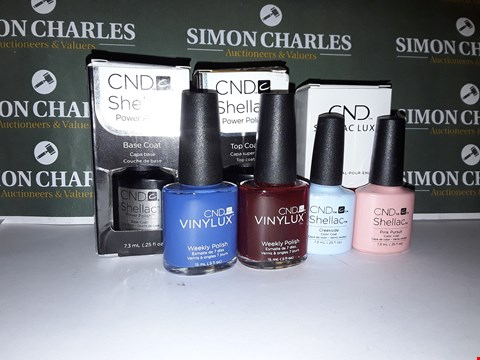 Lot 62 LOT OF 7 ASSORTED CND NAIL PRODUCTS