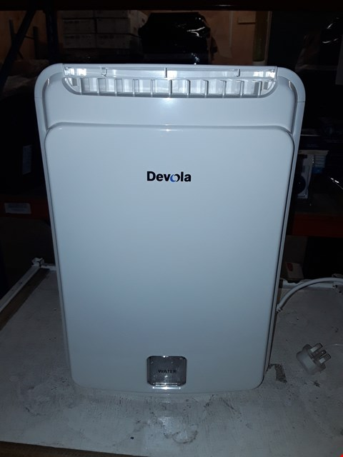 Lot 10040 DEVOLA 8L DESICCANT DEHUMIDIFIER WITH IONISER, LAUNDRY DRIER, DAMP CONDENSATION AND MOULD REMOVAL